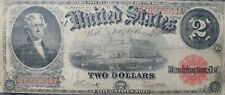 1917 United States $2 Two Dollar Note - Red Seal
