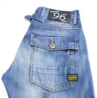 G-STAR RAW Men 5620 Heritage Embro Tapered Jeans Size W29 L30 AHZ147