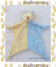 Doudou Peluche Souris Beige Bleu Crème Plat Noeuds Paradise Toys Ltd