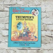 "WALT DISNEY FUN-TO-LEARN LIBRARY ""THUMPER'S LITTLE SISTERS"" VOL 2 - 1986"