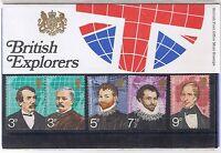 GB Presentation Pack 50 1973 British Explorers