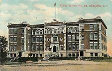 A Closeup View Of Public School No 84, Astoria, Queens, NY New York 1909
