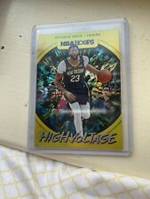 2019-20 Panini NBA Hoops Anthony Davis High Voltage Parallel (CE)