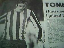 ephemera 1969 football article tommy gibb newcastle