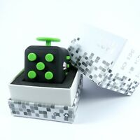 Original ABS Fidget Cube Anxiety Stress Relief Focus For Adults Kids TOY GREEN