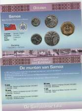Muntset Kon.Ned.Munt Oceania UNC - Samoa