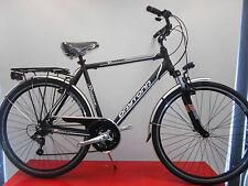 bici bicicletta city bike uomo 28'' telaio alluminio forcella ammortizzata 21 v