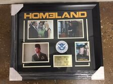 Homeland Framed Photo Collage w/ Engraved Signatures 23.5 x 27.