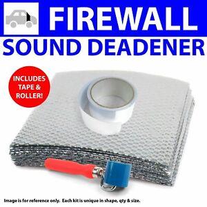 Heat & Sound Deadener for Ford Mustang 2005-2014Type II Stg3 Firewall Kit