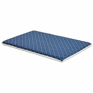 MidWest Homes for Pets Quiet Time Couture Paxton Dog Bed Blue Diamond Pattern...