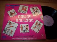 NM The Very Best Of Bawdy Ballads Materiel For Adults 2 LP Albums