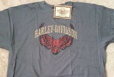 Harley Davidson Winged Engine gray Shirt NWT  Men's XXXL