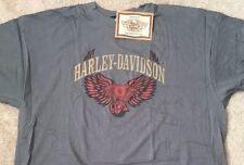 Harley Davidson Winged Engine gray Shirt NWT  Men's XXXL