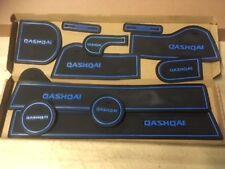 INTERIOR DASHBOARD MAT GATE PAD TRIM SET QASHQAI 2008 - 2013 - BLUE ONLY