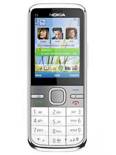 original Nokia C5 5MP White 3G Cell Phone free shipping