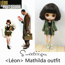 """【Tii】dress outfit 12"""" 1/6 doll Blythe/Pullip/azone/jerryB Clothes Handmade"""