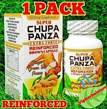 Super CHUPA PANZA EXTRA FORTE Reinforced Brown Capsule GINGER+GREEN TEA+PRUNE