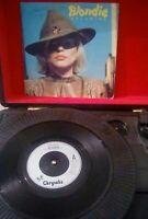 """Blondie – Dreaming Vinyl 7"""" P/S Single UK Chrysalis CHS 2350 1979"""