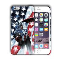 Super Hero Captain America Iphone 4s 5 SE 6 7 8 X XS Max XR 11 Pro Plus Case n8