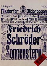 Lithografie 6 Blätter, Neue Wirtinnen Verse, 3. August 1967, Auflage Nr. 40 xxxx