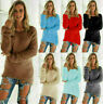 Womens Girl Long Sleeve Sweater Ladies Sweatshirt sweater Pullover Tops Blouse