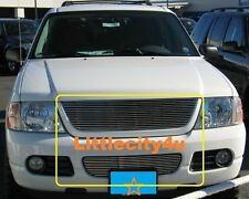 FOR 2002 02 03 04 05 Ford Explorer Billet Grille Grill combo inserts