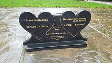 Memorial plaque custom made headstone