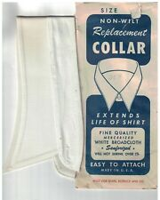 Vintage Mens Sears Size 15 Soft Shirt Collar Nos New Old Stock