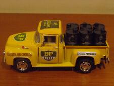 Custom Ford F-100 BP British Petroluem 1/43 scale ute with petrol drums diecast
