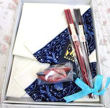HIGH-CLASS ARITA GEN-EMON Japan Takashimaya Gift Set Souvenior Chopstick Napkin