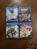 Ps4 game lot bundle. Starwars/call of duty/guilty gear/destiny