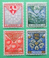 Nederland NVPH 199 - 202 Kinderzegels ongebruikt 1926