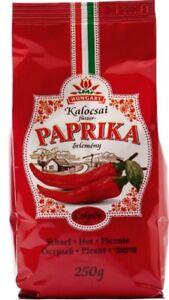 Gemahlener Gewürzpaprika aus Kalocsa im Papierbeutel Scharf 250g
