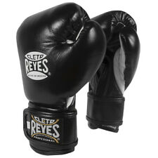 Cleto Reyes Youth Hook and Loop Boxing Gloves - Black