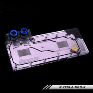 GPU Water Cooling Block for LeadTek NVIDIA Tesla K80M Fast Ship 2021 NEW