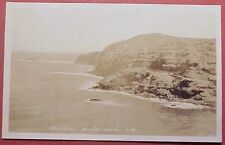 1930's Honolua (Bay) Beach West Maui TH Hawaii AZO RPPC