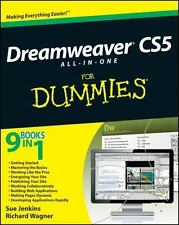 Dreamweaver CS5 All-in-One for Dummies® by Sue Jenkins and Richard Wagner (2010,