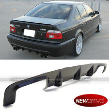 Fits 99-03 E39 5 Series M5 Only Real Carbon Fiber Rear Diffuser Bumper Body Kit