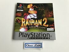 Notice - Rayman 2 The Great Escape - Platinum - Sony PlayStation PS1 - PAL FR