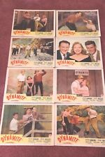 "1 SET OF 8 LOBBY CARDS FROM THE 1948 FILM "" DYNAMITE """
