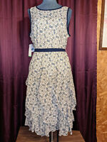 *Robbie Bee Floral Dress Womens Size 8 NWT Closet255*