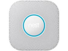 Nest Protect Wi-Fi Smoke & Carbon Monoxide Alarm, Wired (S3003LWEF) (2nd Gen)