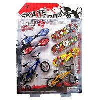 8X Tech Deck Finger Bike Bicycle And Skateboard Kids Children Wheel Toys Gifts