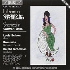 Conc for Jazz Drummer Carmen Suite Farberman 7318590003824 CD