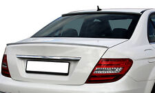 Mercedes-Benz C Class W204 Rear Euro Trunk Boot Spoiler Lip Wing Sport Trim AMG