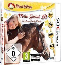 Nintendo 3DS Dual Screen Spiel * Mein Gestüt 3D Ein Leben für die Pferde*NEU*NEW