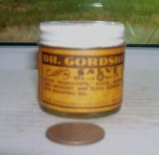 NICE VINTAGE LABEL MEDICINE, DR GORDSHELL, BALTIMORE, MD