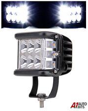 45w Cube Led Work Light Triple Side Shooter Spot Beam Driving Lamp 120 Degrees