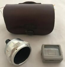 Vintage Wide Angle Approach Cine Camera Lens, Meopta Mirar 2x, for Admira 8f
