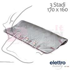 TERMOCOPERTA PROFESSIONALE 3 STADI 170x160cm. ELETTROBEAUTY COPERTA ESTETISTA